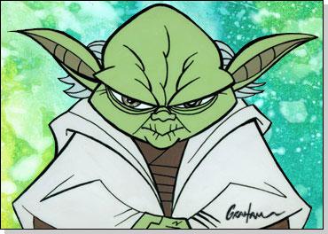 draw yoda