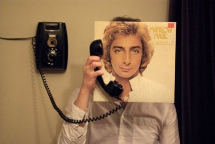 manilow sleeveface