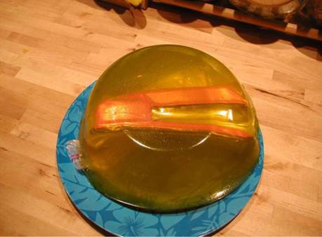 stapler in jelly